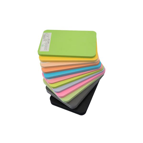 聚氯乙烯泡沫板(彩色)