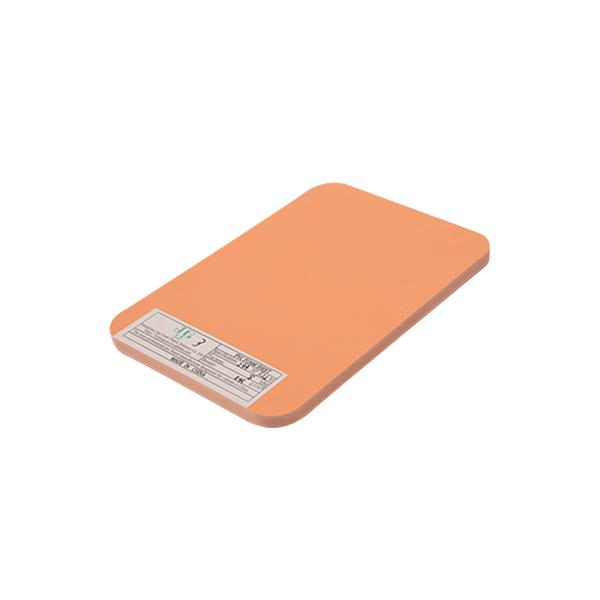 橙色PVC泡沫板